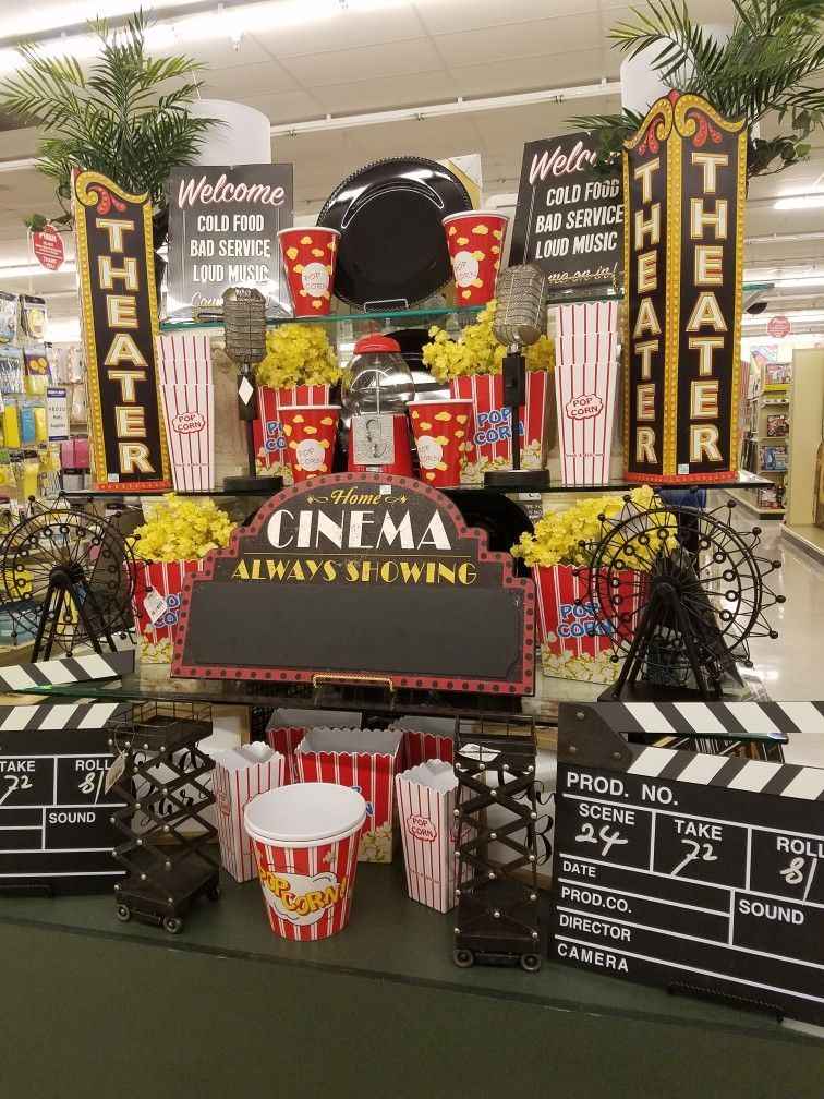 movie theatre theme | Movie room decor, Movie themed rooms ...