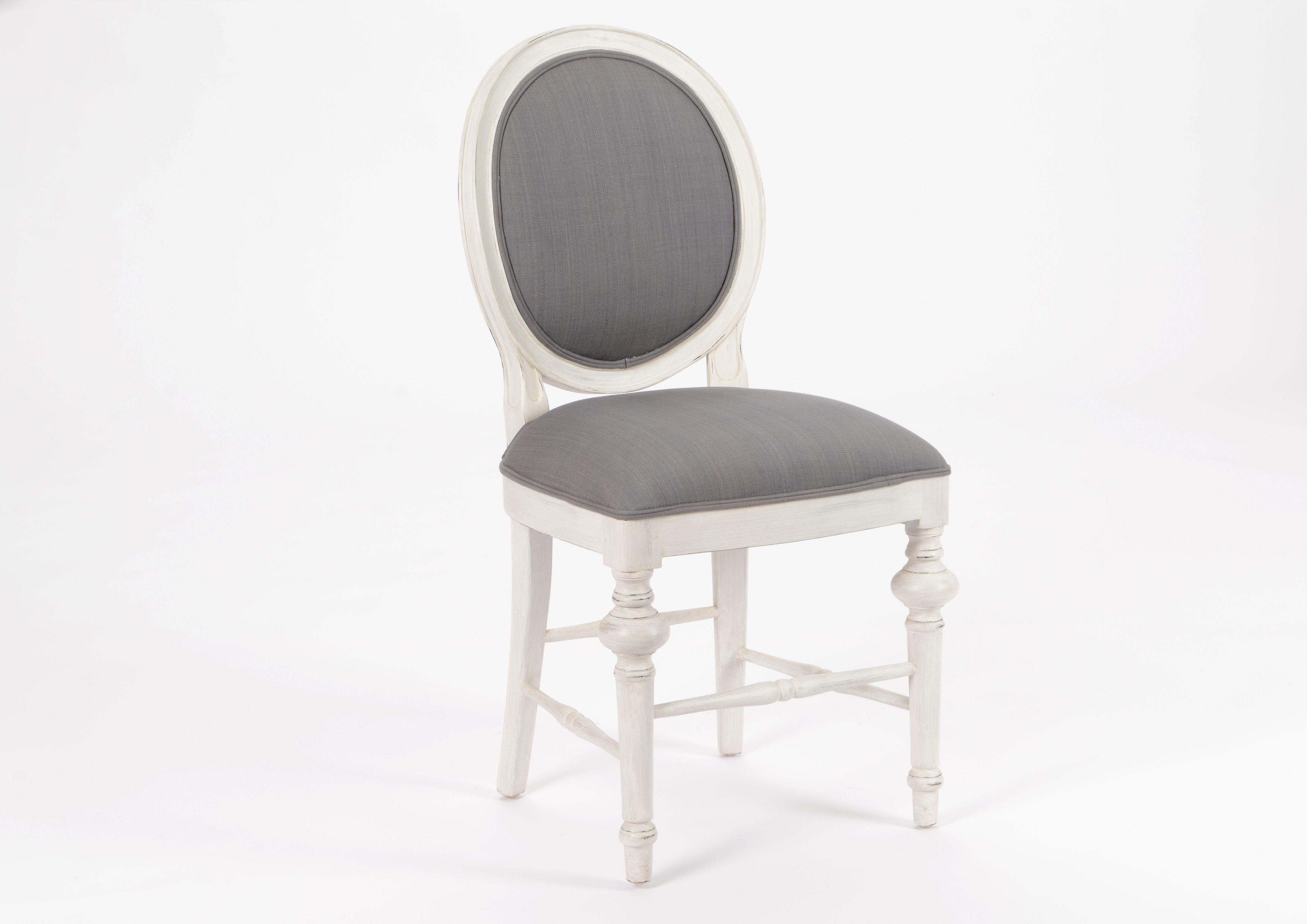 Tourdissant Chaise Baroque Grise