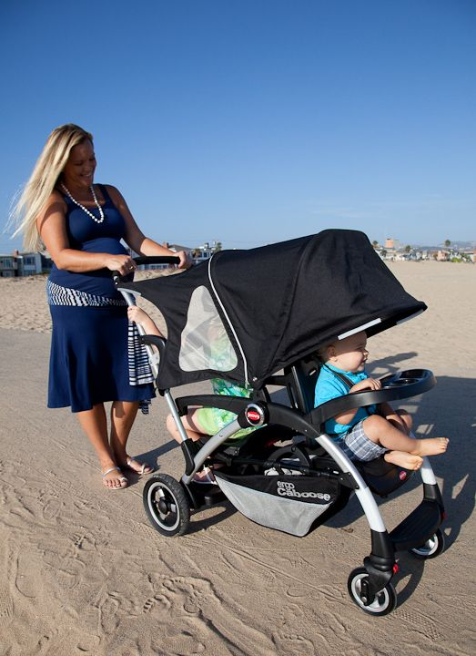 Baby Strollers Equipment Cart Ergo Caboose At The Beach