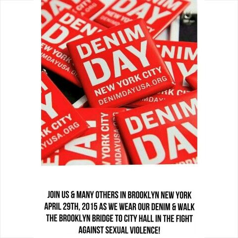 WE SUPPORT & ARE PROUD SPONSORS OF DENIM DAY 2015 !  https://m.facebook.com/DenimDayNYC