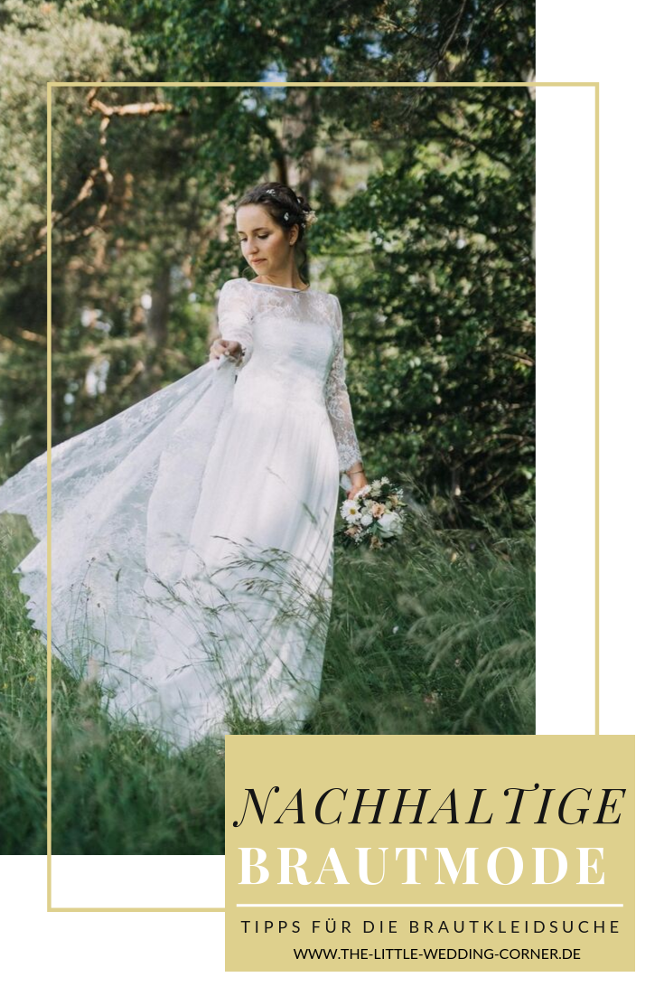 Nachhaltige Brautkleider: Tipps für faire und nachhaltige