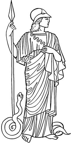Athena Coloring Page Greece Art Cool Coloring Pages Coloring Pages