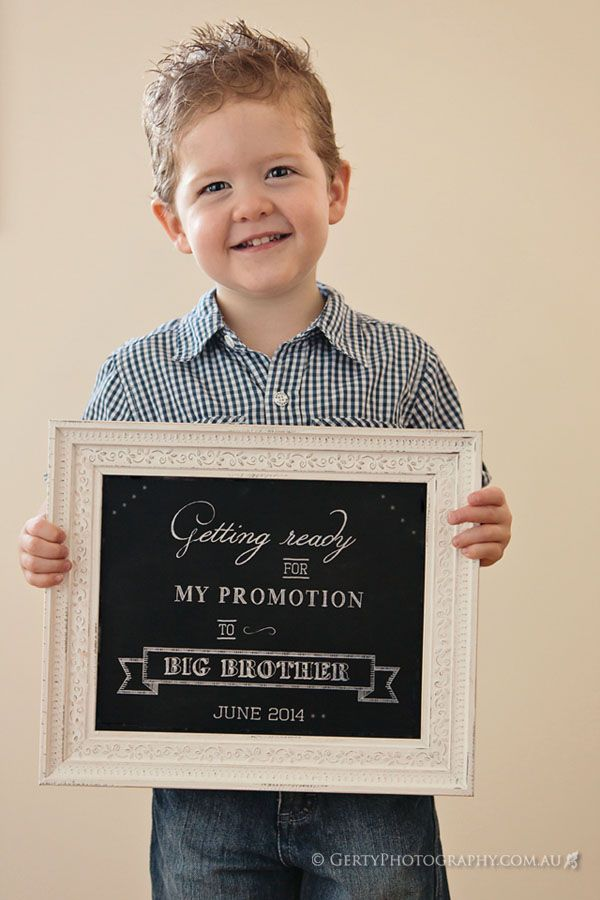 Expecting Announcement Big Brother with little sisters name and – Big Brother Birth Announcement Ideas