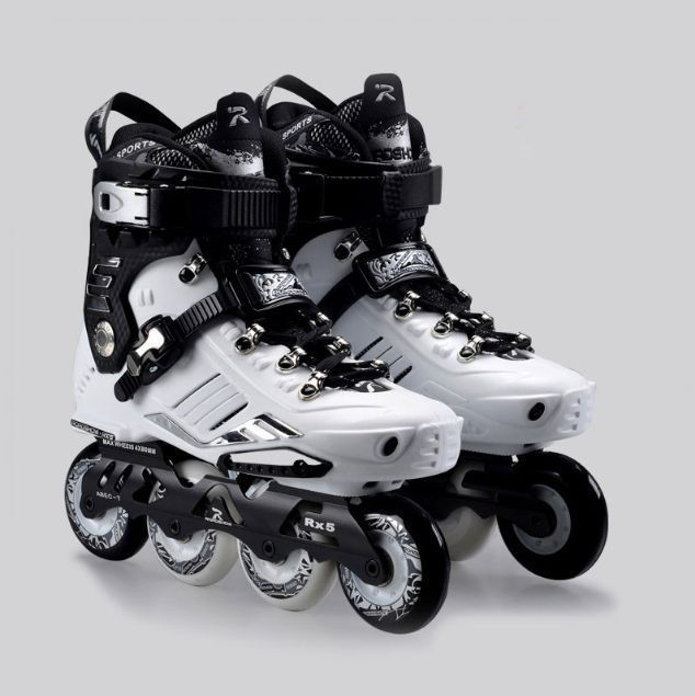 New Comfortable French Road Show Rx5 Adult Inline Skating Shoes