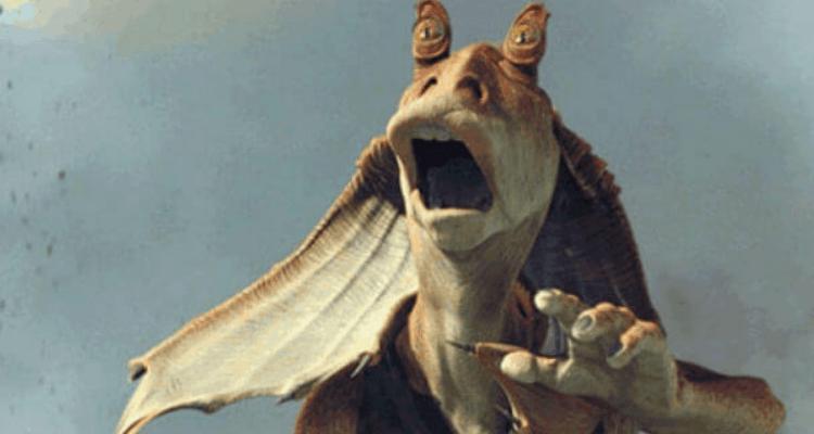George Lucas Loving Jar Jar Binks Is Just Too Perfect For Star Wars Star Wars Star Wars Episodes Star Wars Fans