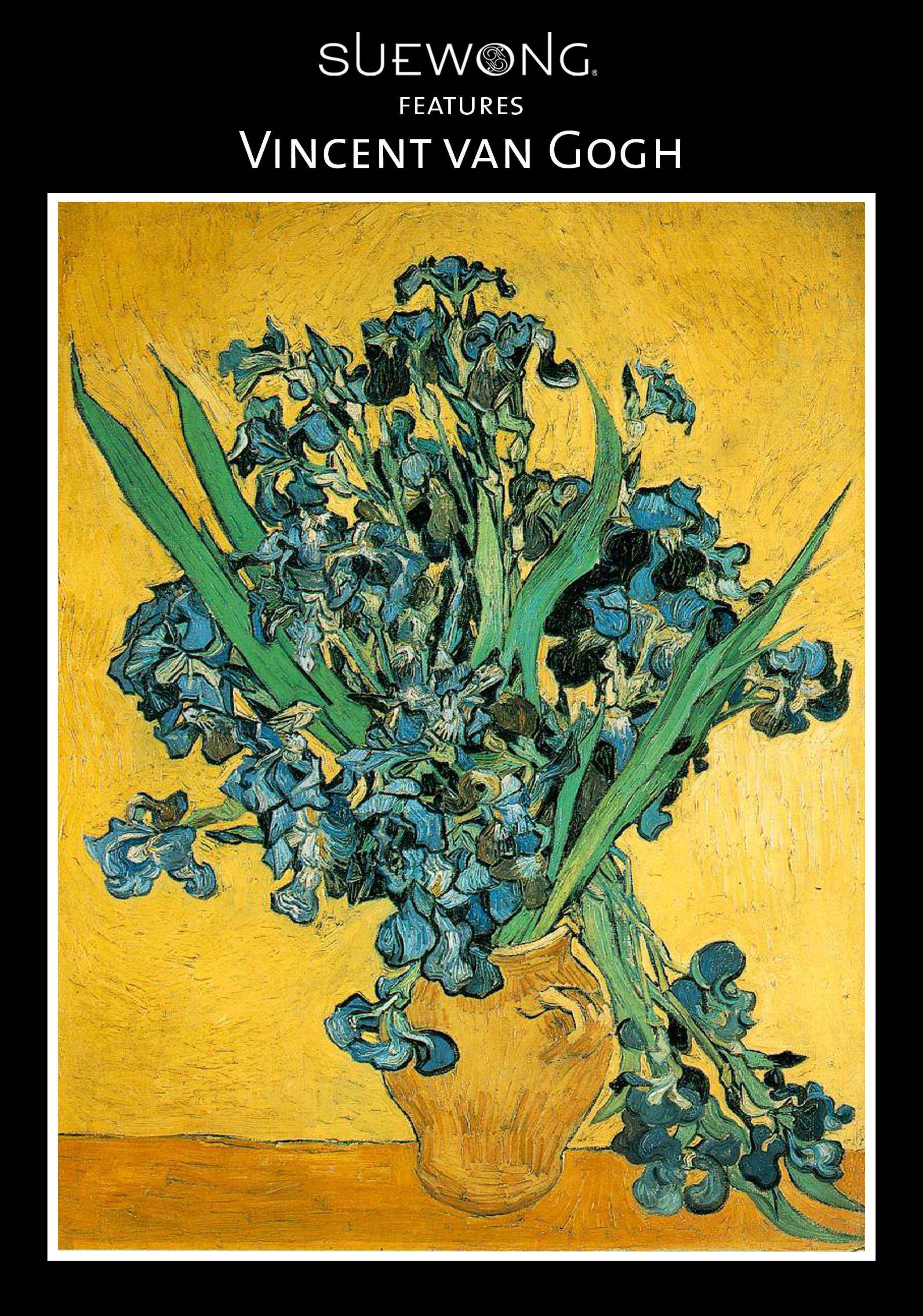 VINCENT VAN GOGH was a #Dutch #PostImpressionist Master whose innovative art influenced modern Expressionism, Fauvism, and early Abstract art. #VanGogh produced all of his work during a 10-year period. In 1889. Tormented by mental illness for most of his life, Van Gogh created many of his masterpieces while institutionalized. He is now regarded as one of the most important artists of the 19th century. #teamsuewong #suewong #painting #art #inspiration #illustration