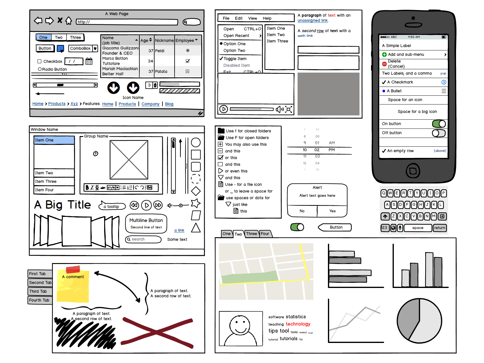 Balsamiq Prototyping Tools Wireframe Interactive Design