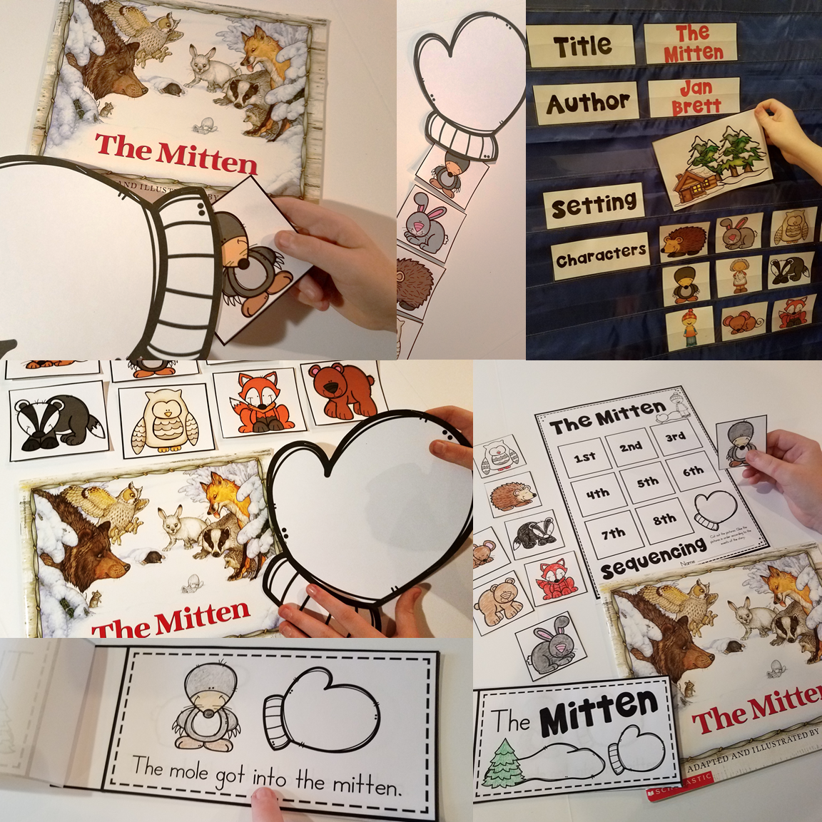 16 Literacy And Math Activities For The Story The Mitten