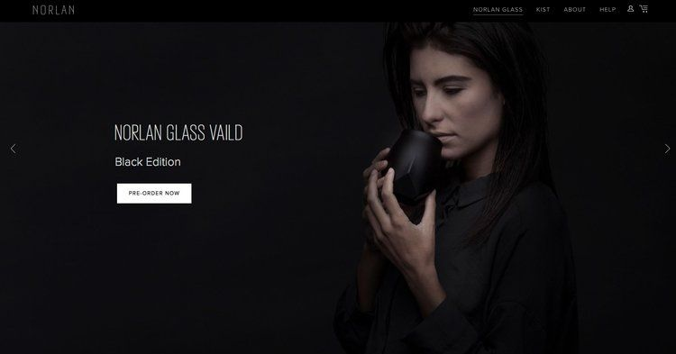 Advertising for Norlan Glass