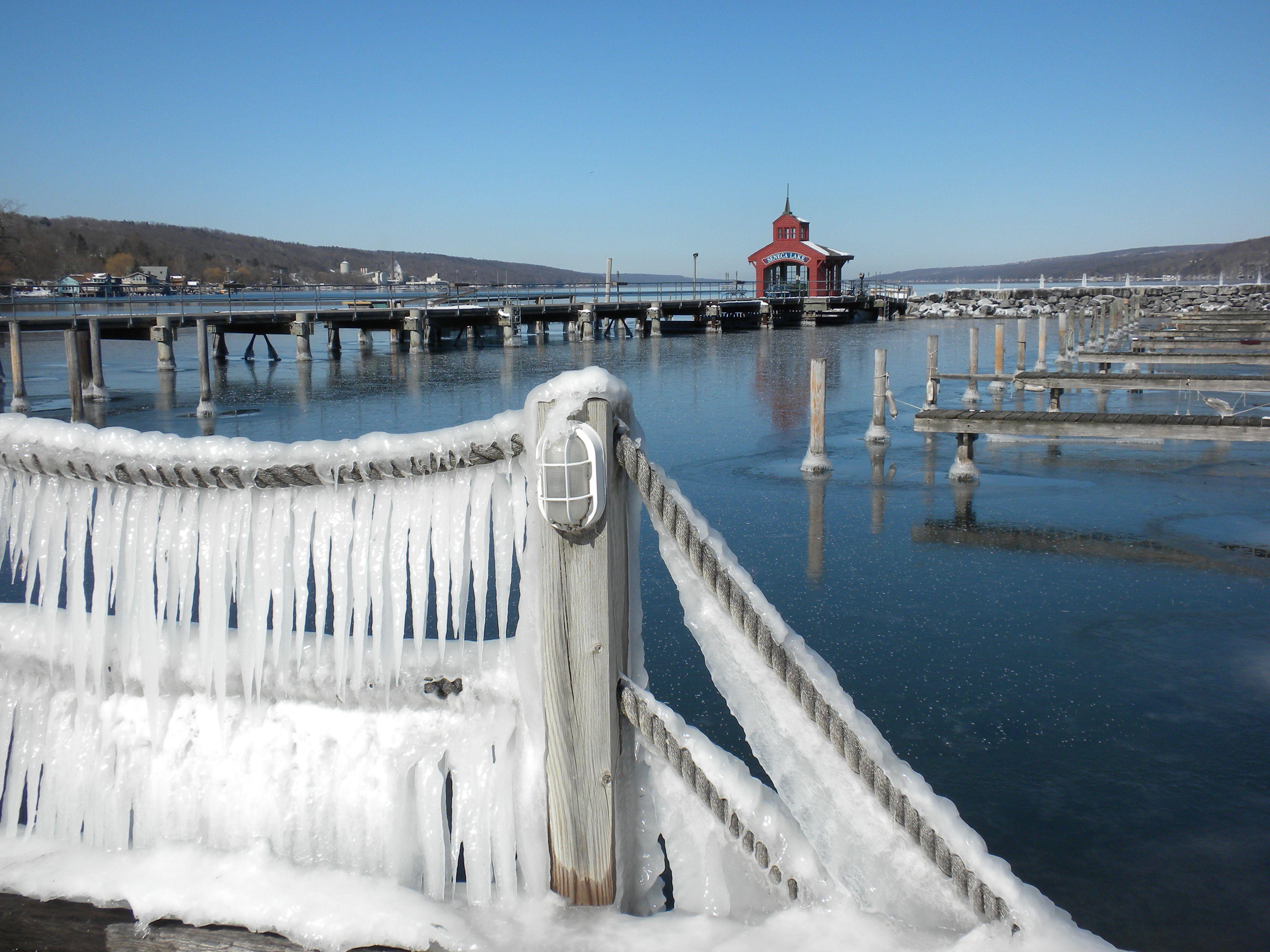Winter On Seneca Lake