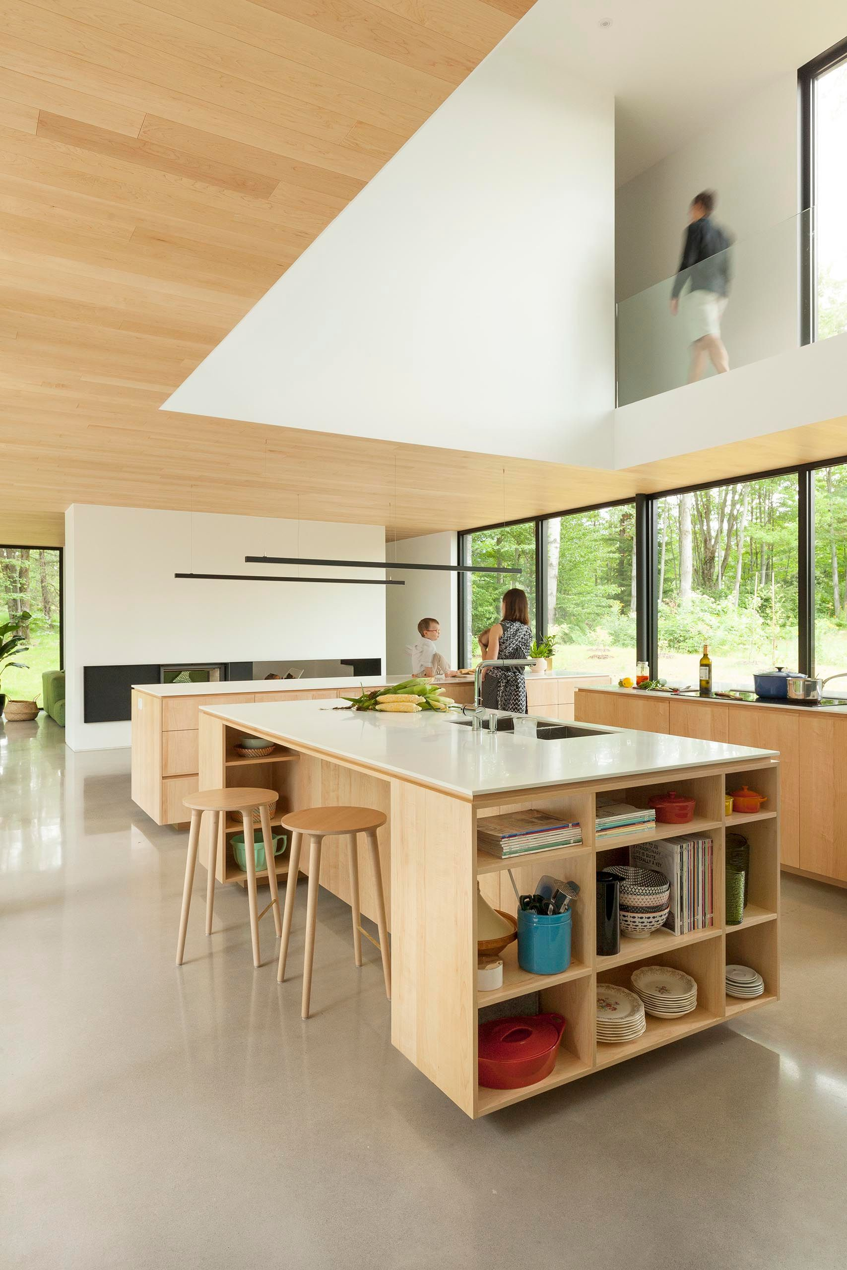 This Kitchen Design Has Three Islands To Maximize Cabinet ...