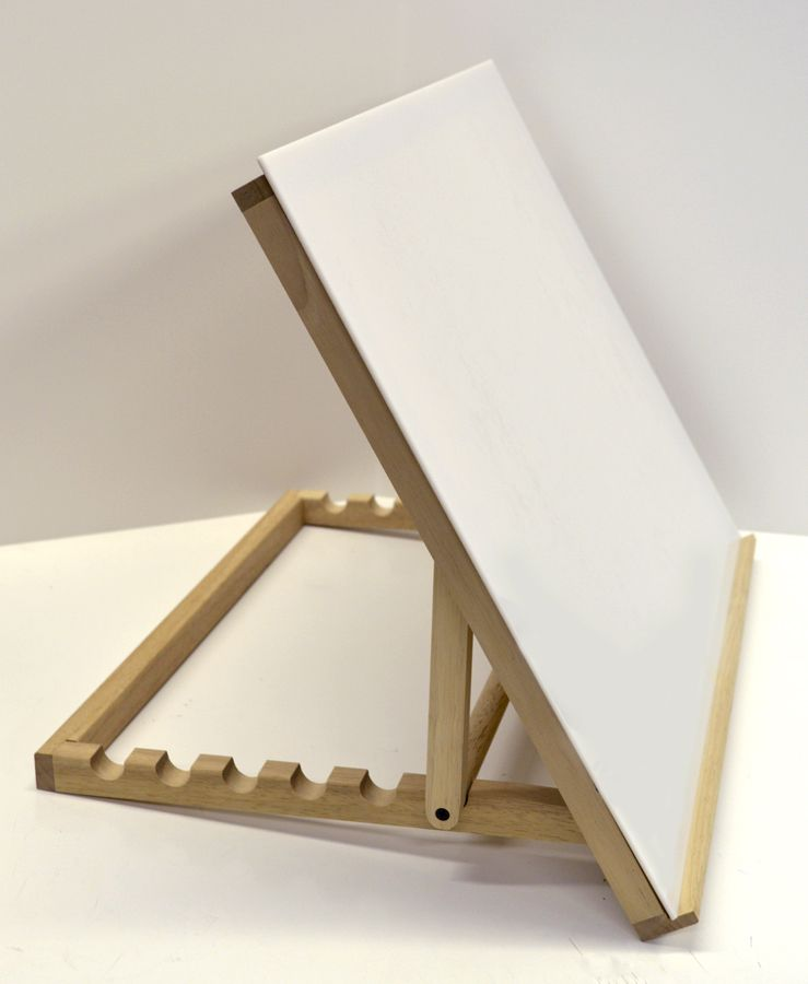 This solidly made table top drawing table works as a for Ikea drafting table with lightbox
