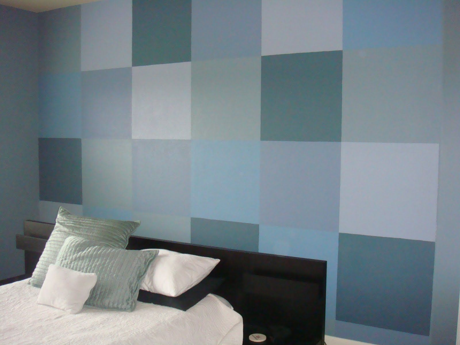 Color Block Wall Living Room Paint Boy Room Paint