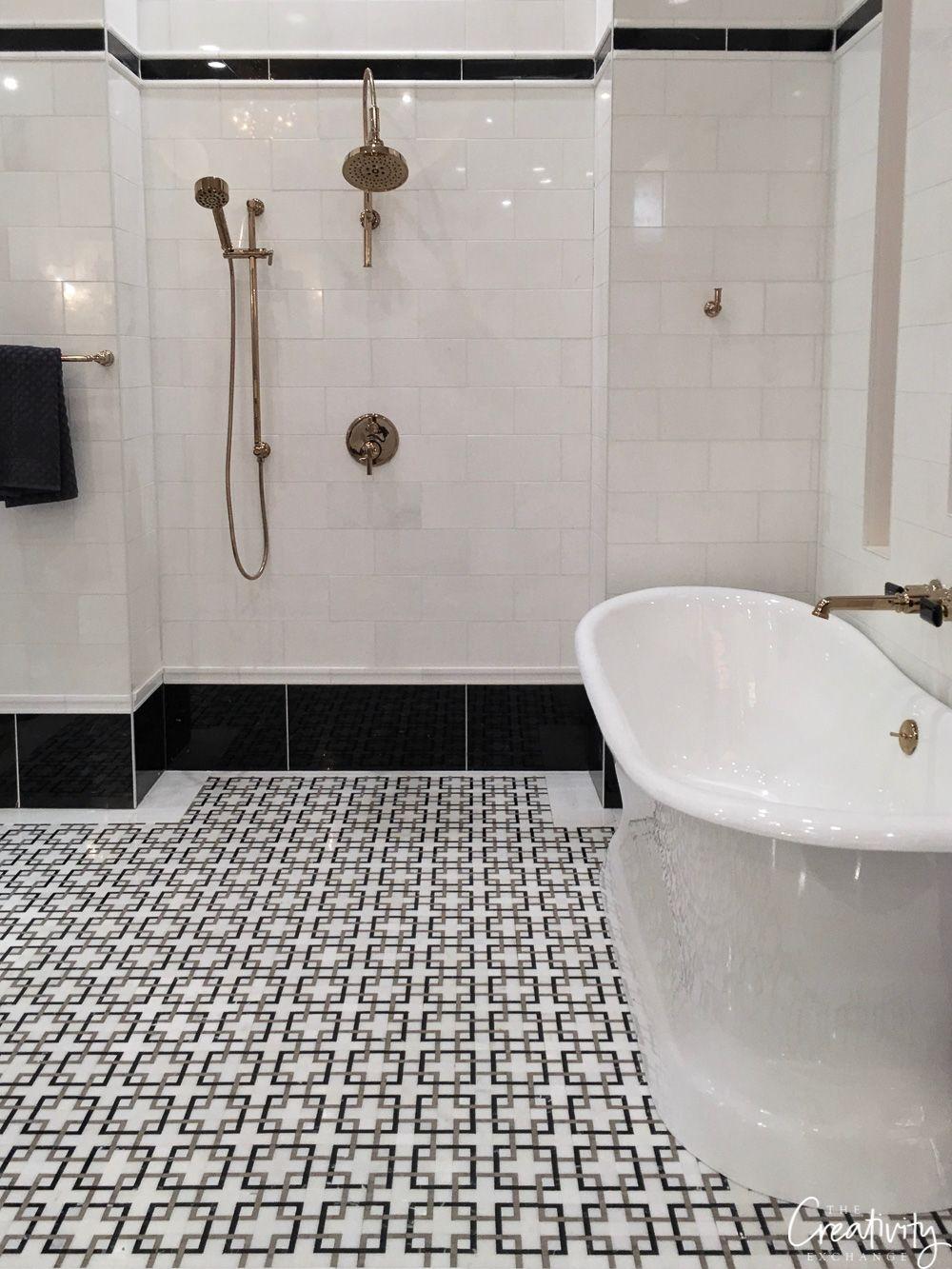 2019 Kitchen And Bath Industry Show In Las Vegas Marble Bathroom Mosaic Bathroom Bathroom Wallpaper