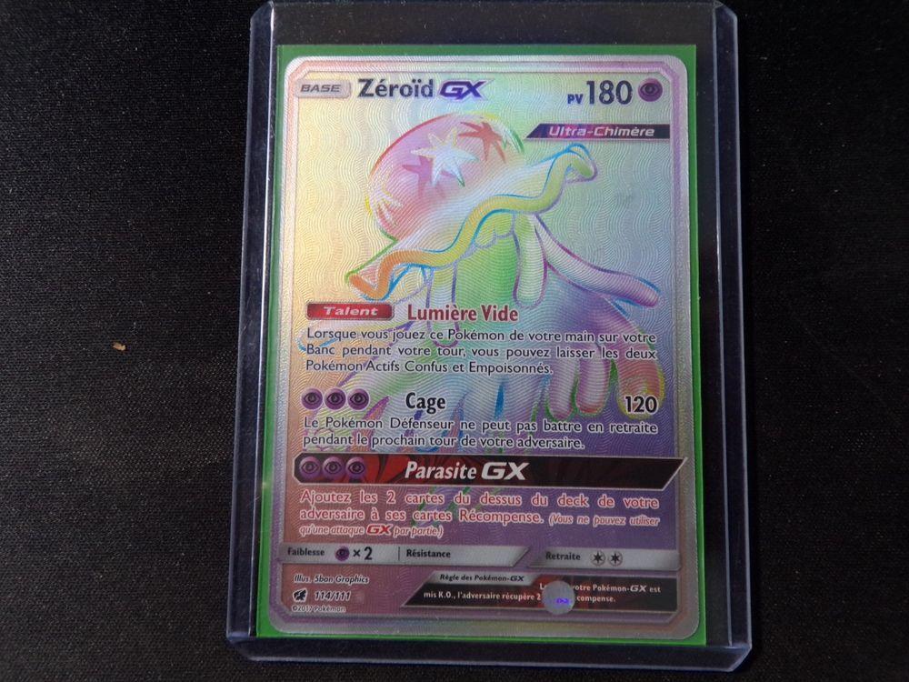 Zeroid Gx 180pv 114 111 Holo Secrete Neuf Carte Pokemon Carte