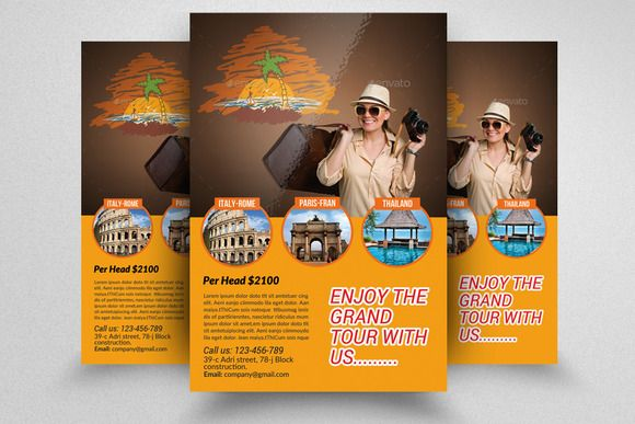 Tour Travel Agency Flyer Template Travel And Tourism Tour And Travel Travel Agency