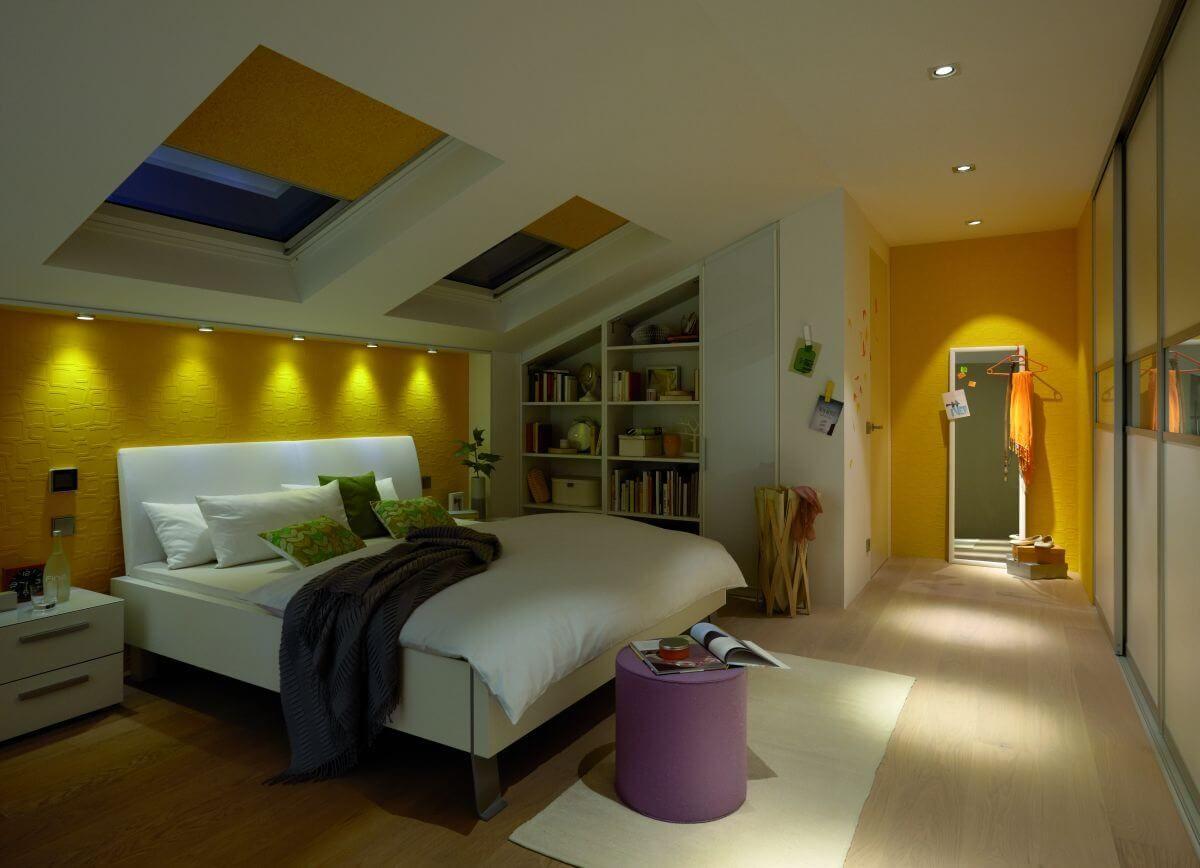 Wow Einbauleuchten Schaffen Einfach Schone Licht Akzente In Jedem Raum Das Schlafzimmer Mit Mit Bildern Schlafzimmer Beleuchtung Schlafzimmer Dachgeschoss Schlafzimmer