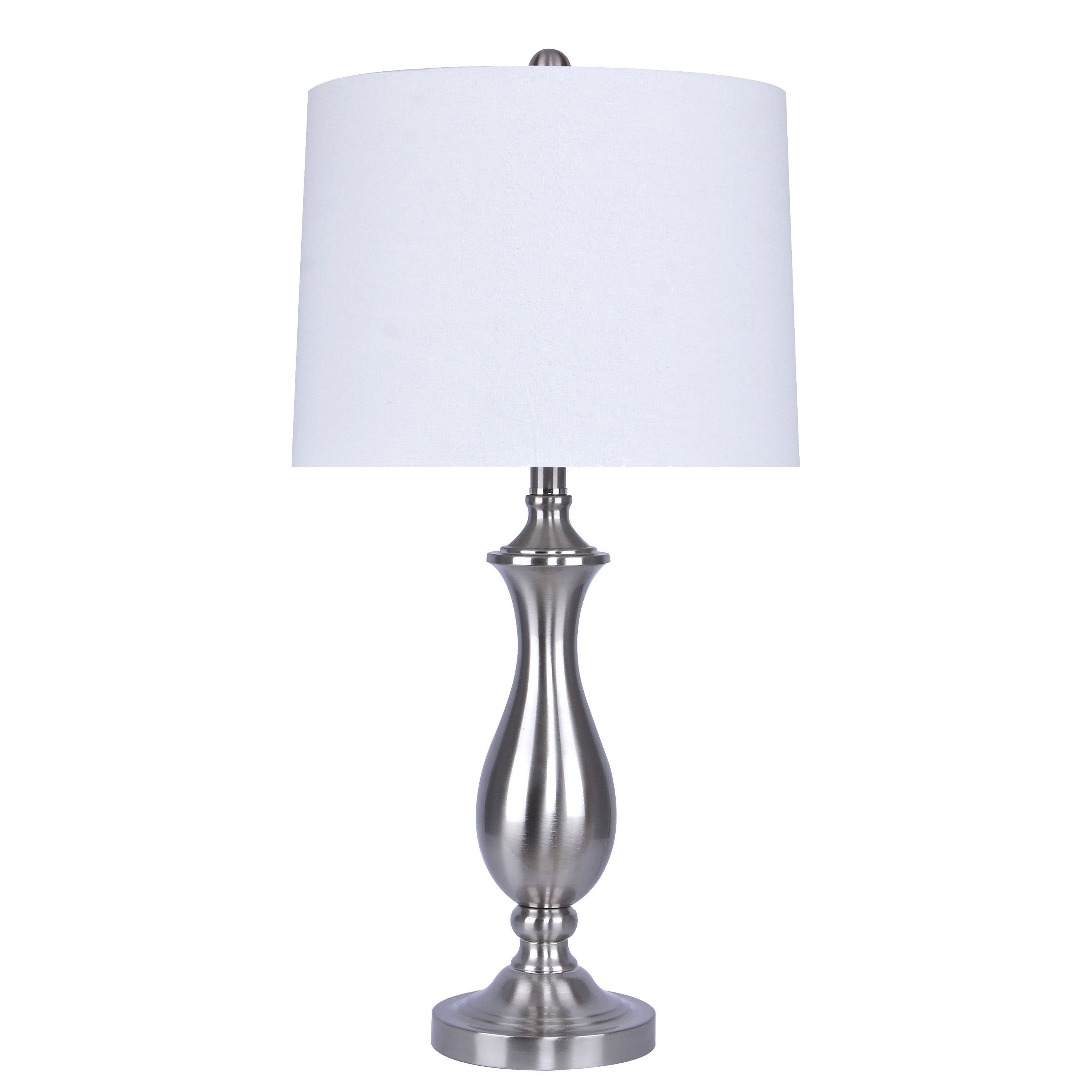Vanhorn 28 Table Lamp Nickel Table Lamps Table Lamp Lamp