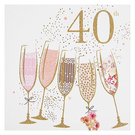 3ba8fc81ecbebf64e83ee95cc95601f8 portfolio champagne 40th birthday card birthday card online