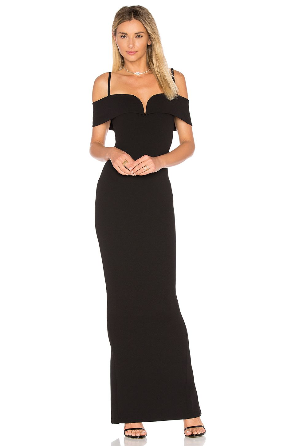 Nookie pretty woman gown in black bridesmaid dresses pinterest