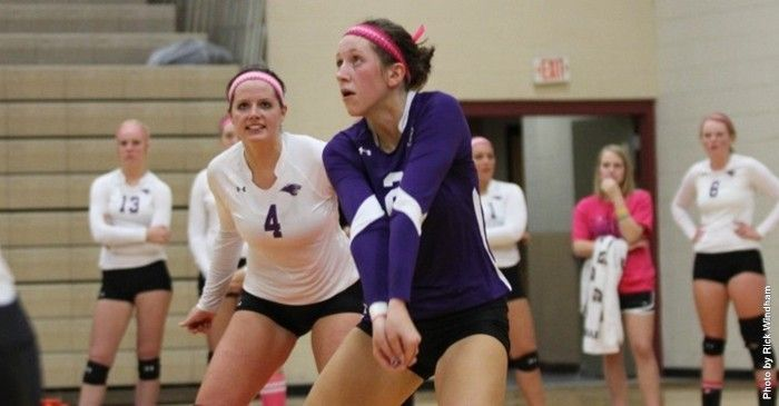 Mckendree Volleyball Team Falls To Central Missouri Winona State At Peggy Martin Challenge Volleyball Team Winona State Central Missouri