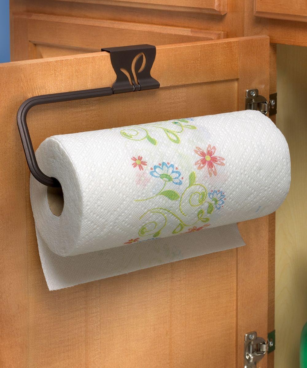 Leaf Over The Cabinet Paper Towel Holder Paper Towel Holder Towel Holder Paper Towel