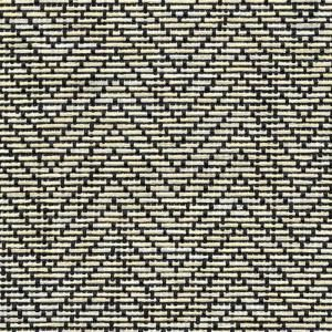 Magic Cover Natural Weave Black And Ivory Zig Zag Shelf Liner Set