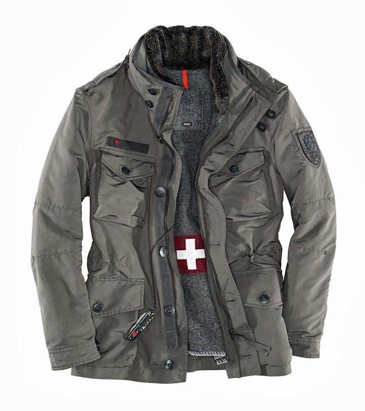 strellson swiss cross jacket
