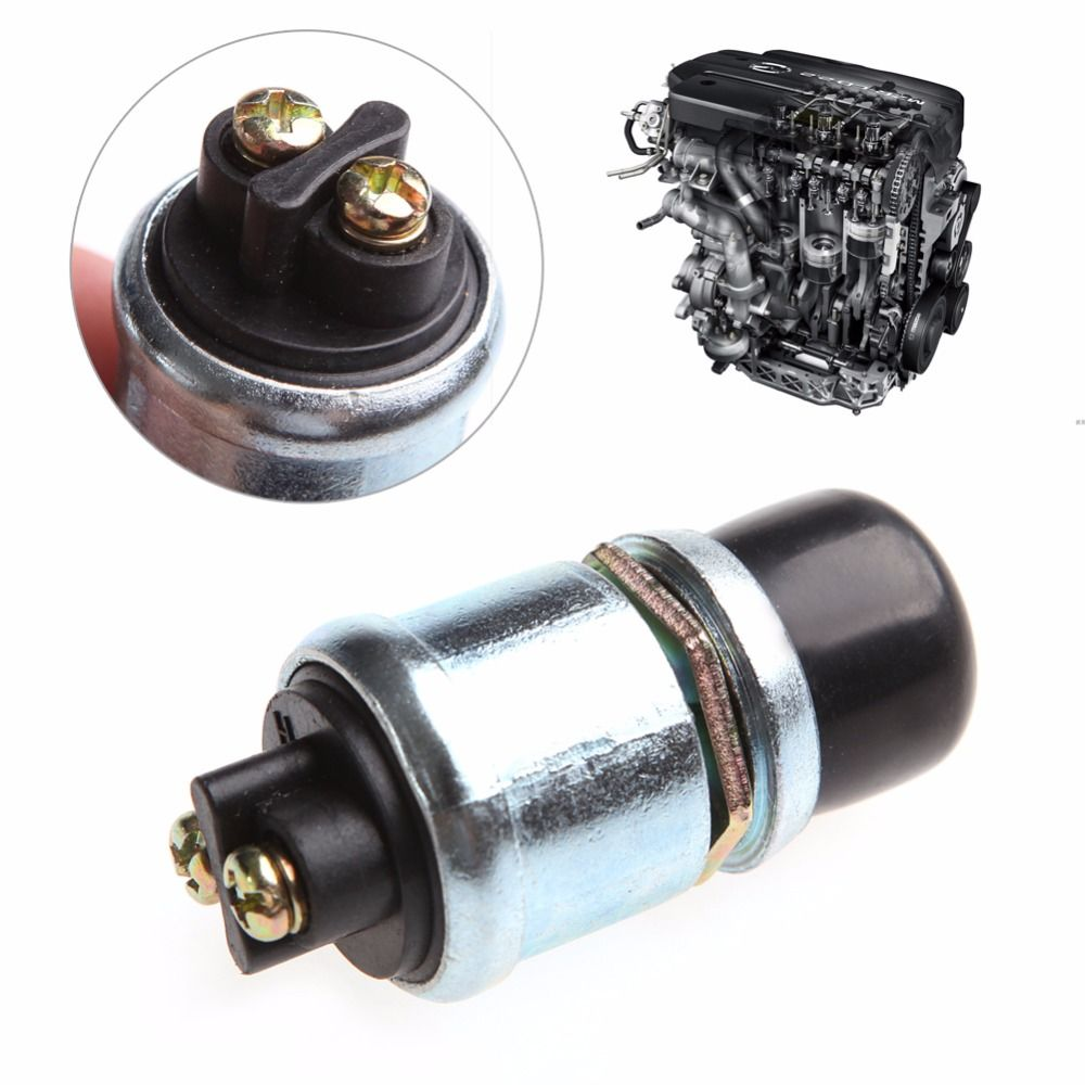 waterproof car boat track engine switch horn push button start  waterproof car boat track engine switch horn push button start starter 12v 20a r179t