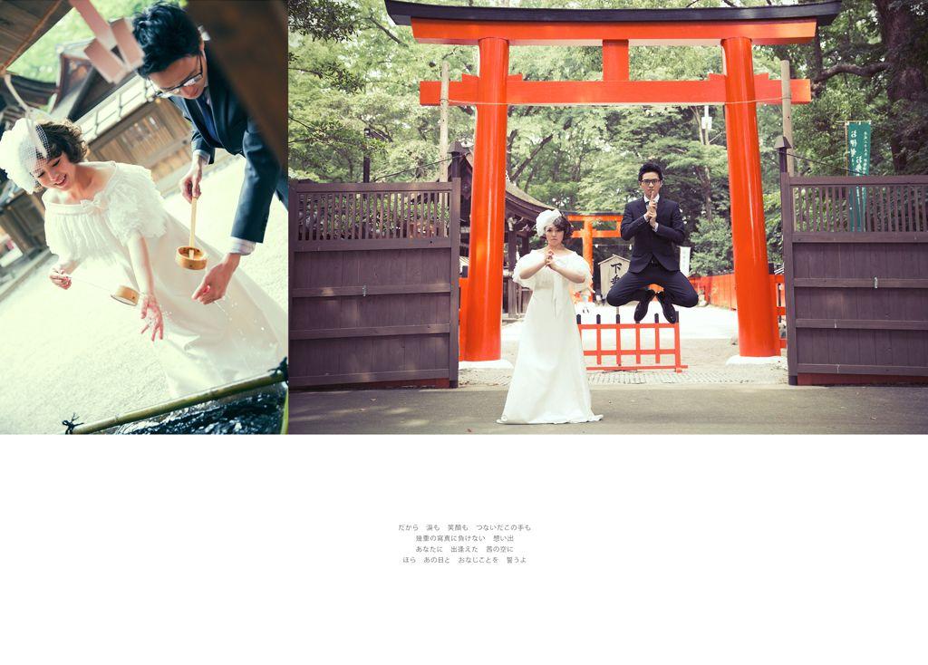 海外婚紗 學德 yumi prewedding 日本京都 京都 海外 日本