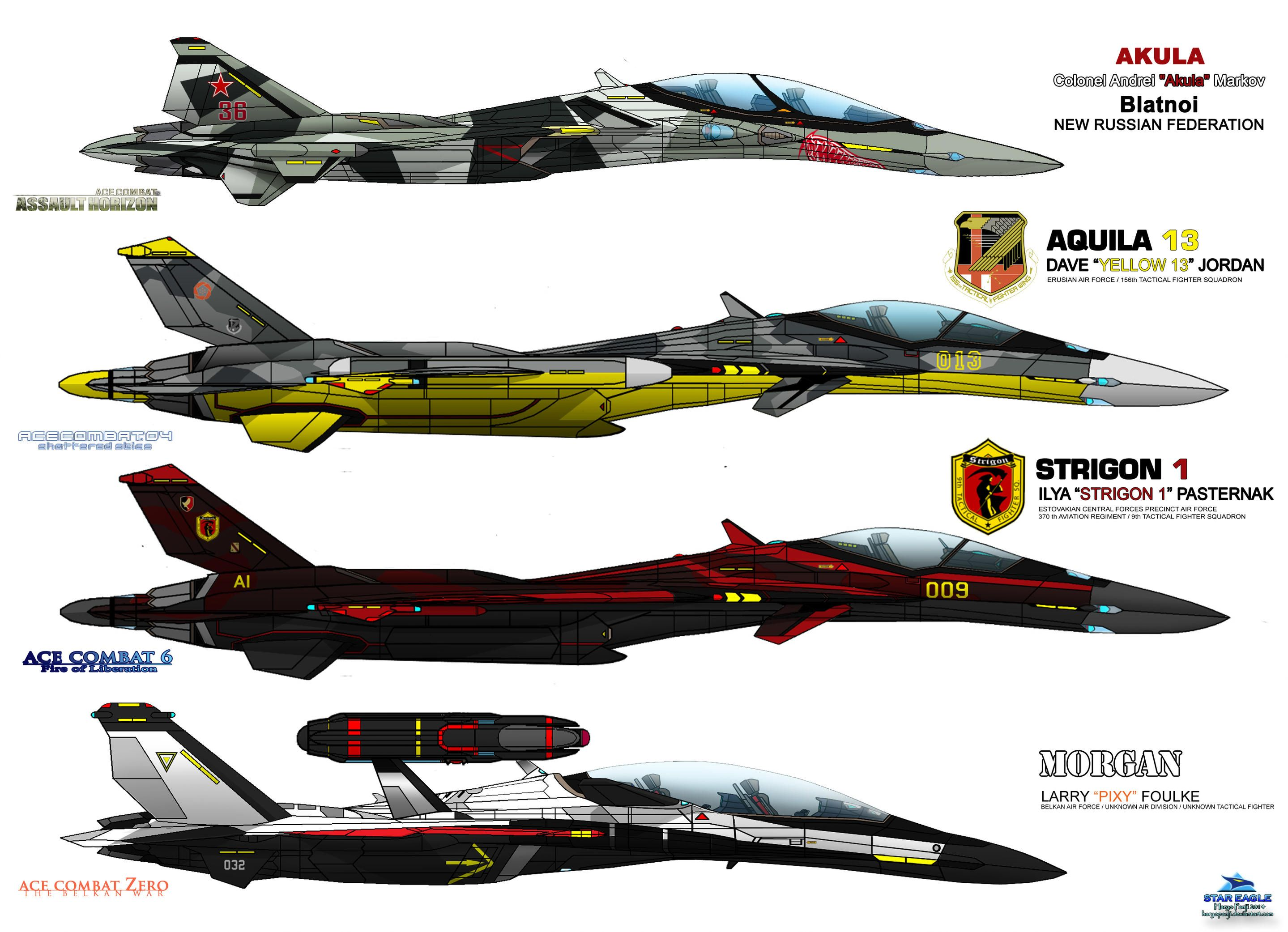 Ifx Project Special Livery Ace Combat Baddiest By Haryopanji