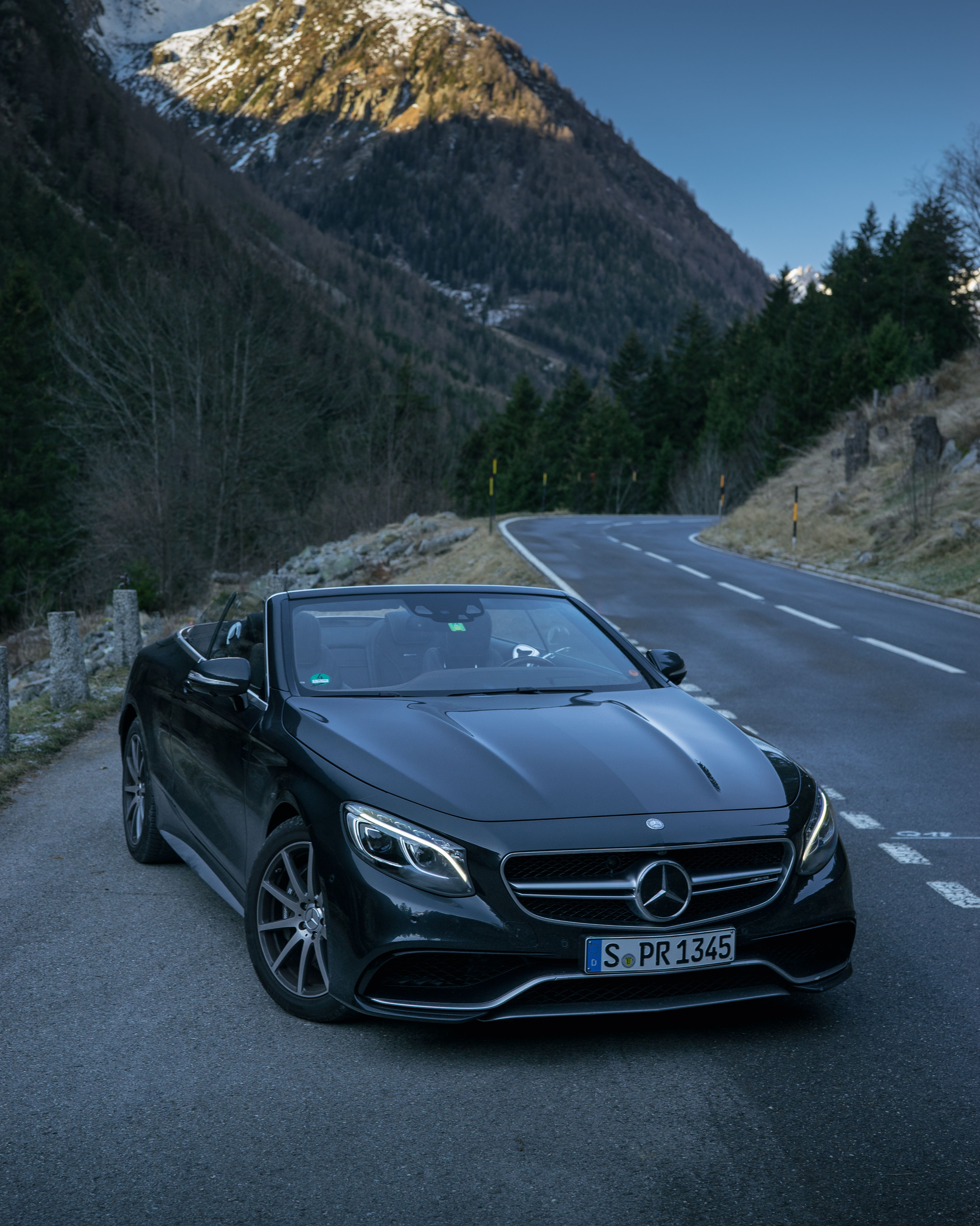 hight resolution of open top luxury the mercedes benz s 63 cabriolet photo by korhan