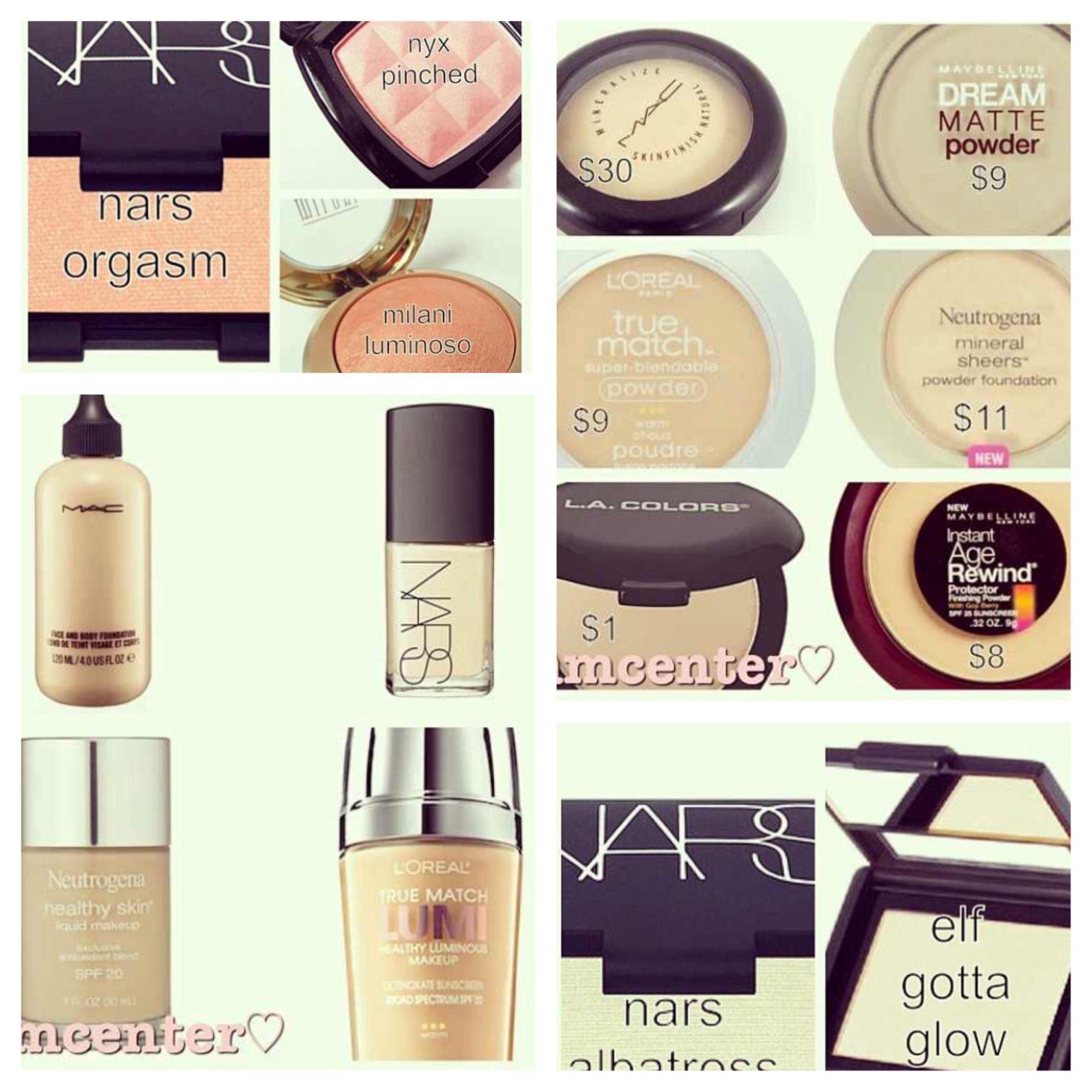 Best Drugstore Makeup Dupes - The Ultimate List - liana desu