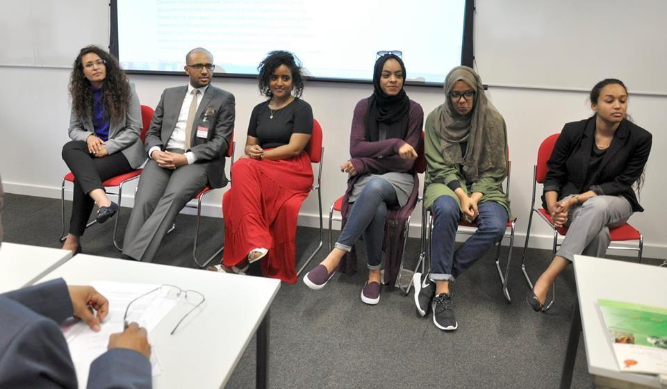 بأكبر مشاركة نسائية سودانية إختتام المؤتمر الدولي الثالث للهجرة بلندن (2 من 2)