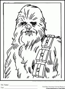 Star Wars Colouring Pages Chewbacca Wookie Star Wars Malbuch Muttertag Malvorlagen Malvorlagen