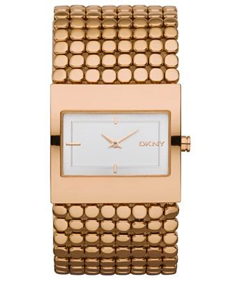 Similar To The Other Dkny Watch But In Rose Gold And Less Bling Y