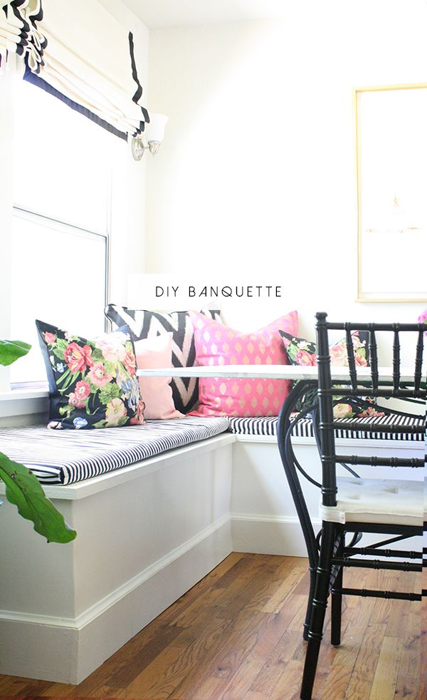 DIY BANQUETTE How to build banquette