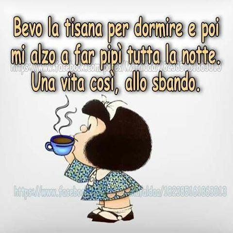 Buona Notte A Domani Mafalda Frasi Di Mafalda