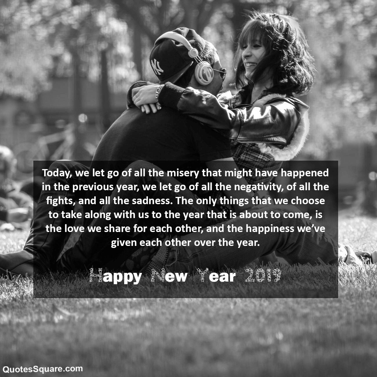 New year 2019 romantic messages for her him
