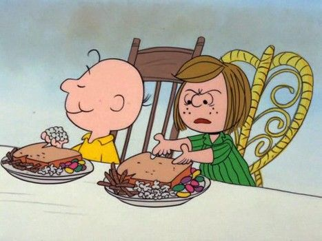 Charlie Brown's Thanksgiving-lulu dooley and Shelby gearing up for holiday.