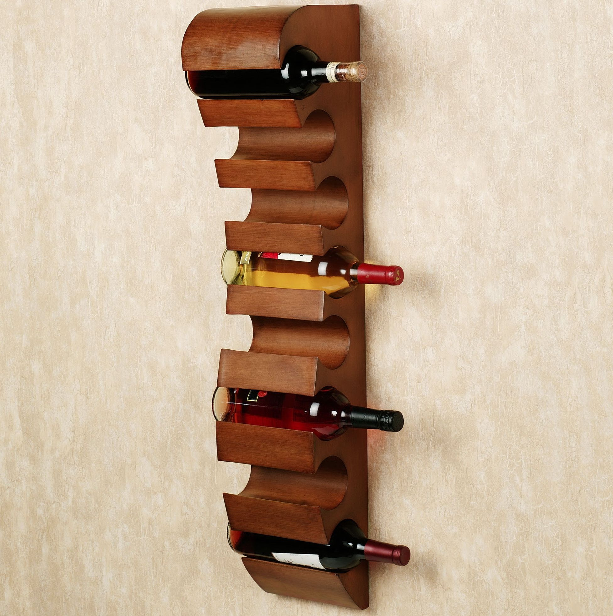 Aspire Contemporary Wall Mounted Wine Rack