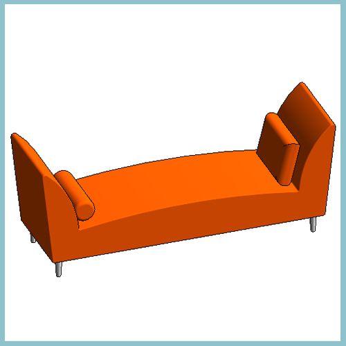Skyrah Chaise Lounge Autodesk Revit Architecture 2012 Families