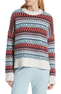 49a9dd01e NORDSTROM SIGNATURE Designer Fair Isle Cashmere Sweater | Avivey ...