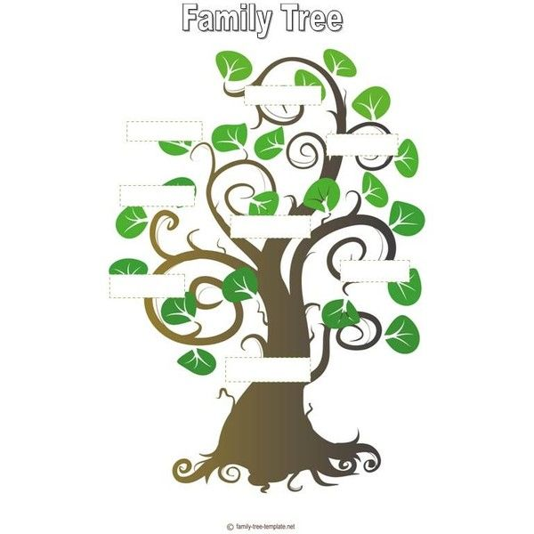 If Youre Seeking Family Tree Template For Kids That Enables Your