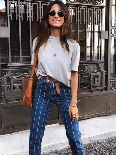 New fall fashion style stretch button jeans women pants