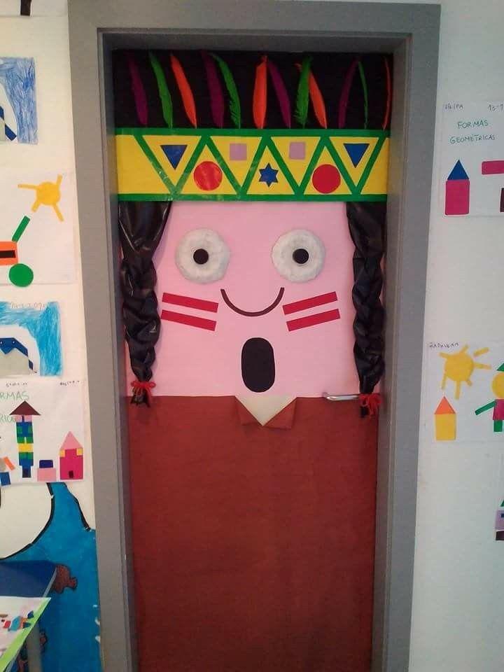 Pin de marjorie mayorga en ideas para el aula puerta del for Decoracion puerta aula infantil