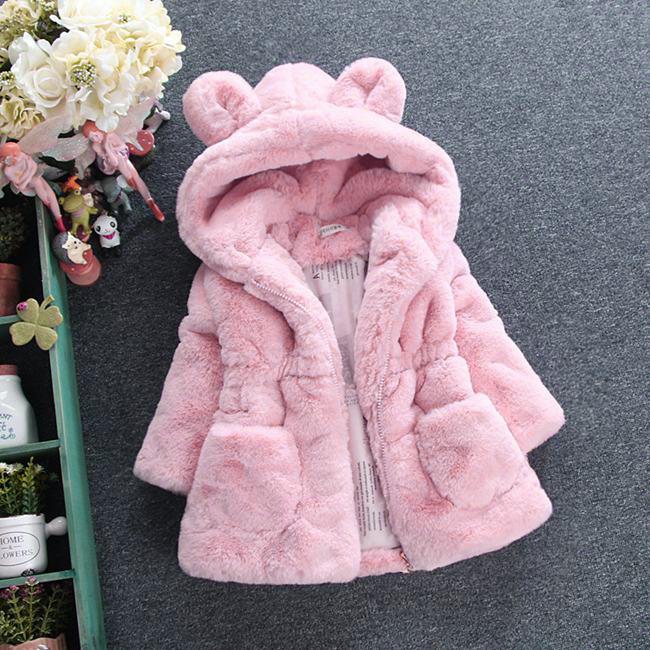 8eebc3bb3f1 Nueva colección 2018 de abrigos para niñas 1