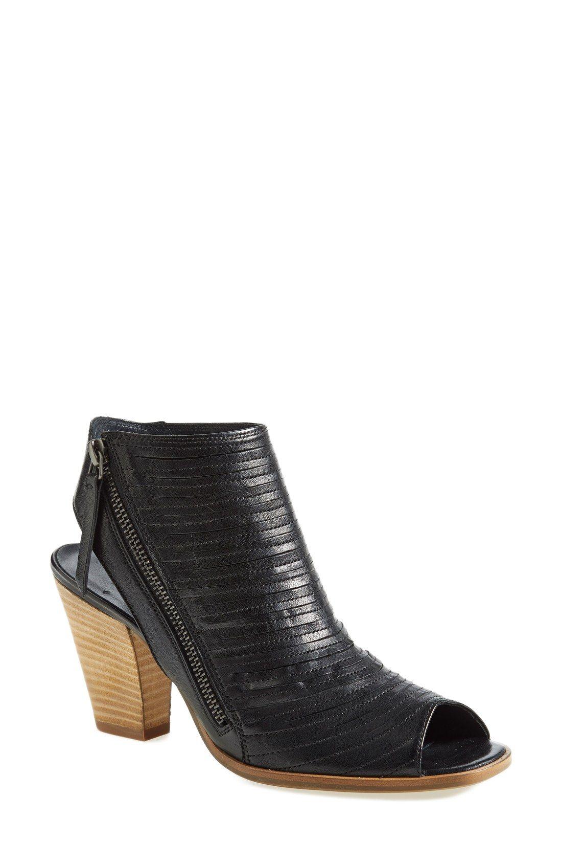 fc11fda5ac Paul Green  Cayanne  Leather Peep Toe Sandal (Women)