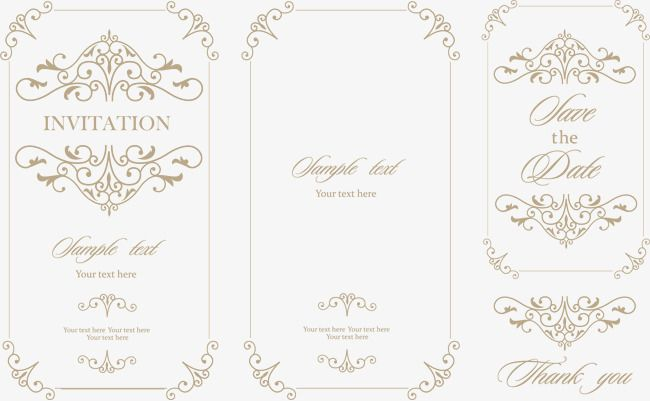 Medieval vintage wedding invitations vector elements wedding medieval vintage wedding invitations vector elements wedding invitations invitations invitations advertising design png stopboris Image collections