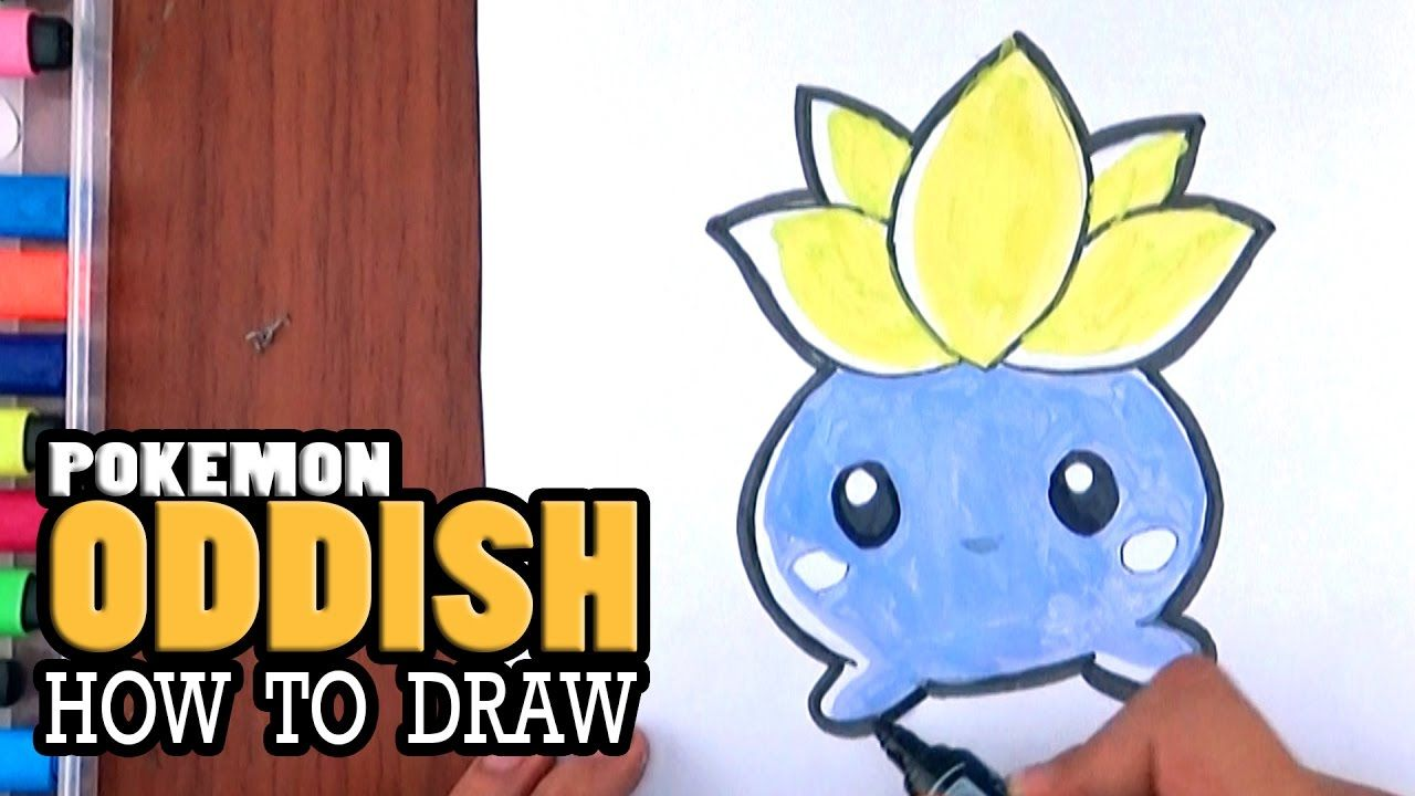 How To Draw Oddish Chibi